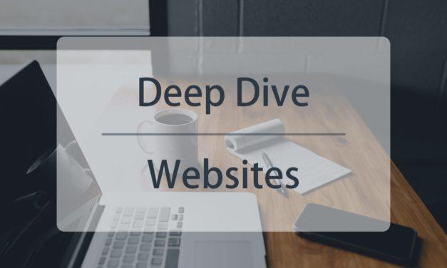 Deep Dive #1: Websites auf Vordermann bringen